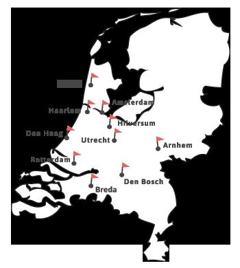 Landkaart studiekeuzecoaches